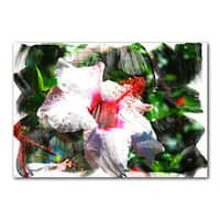 Ready2HangArt 'Tropical Hibiscus' Canvas Art