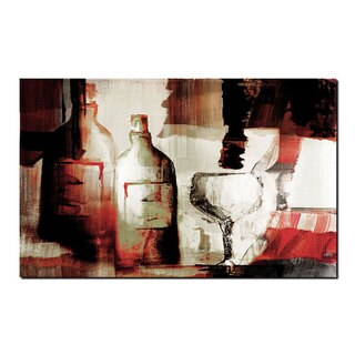 Ready2HangArt 'Abstract Wine ' Gallery-wrapped Canvas Wall Art