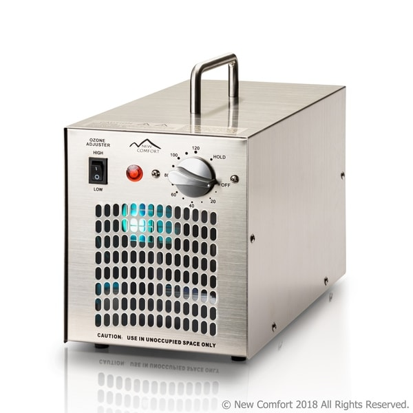 Stainless Steel Commercial Ozone Generator UV Air Purifier