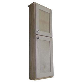 Shaker Series 42-inch Unfinished On The Wall Cabinet