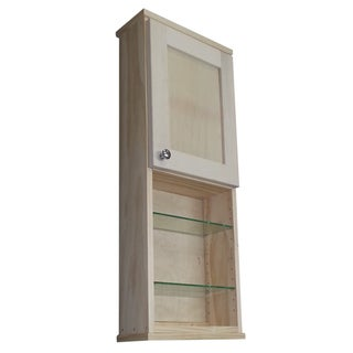 Shaker Series 36-inch Unfinished 18-inch Open Shelf On The Wall Cabinet
