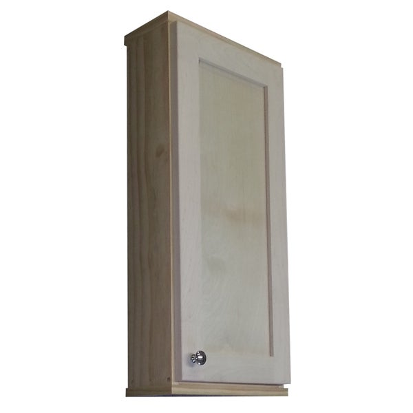 Shaker series 30 inch unfinished 5 5 inch deep inside on for 30 inch deep kitchen cabinets