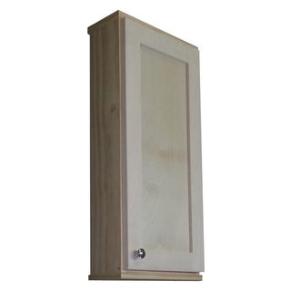 Shaker Series 36-inch Unfinished 5.5-inch Deep Inside On The Wall Cabinet