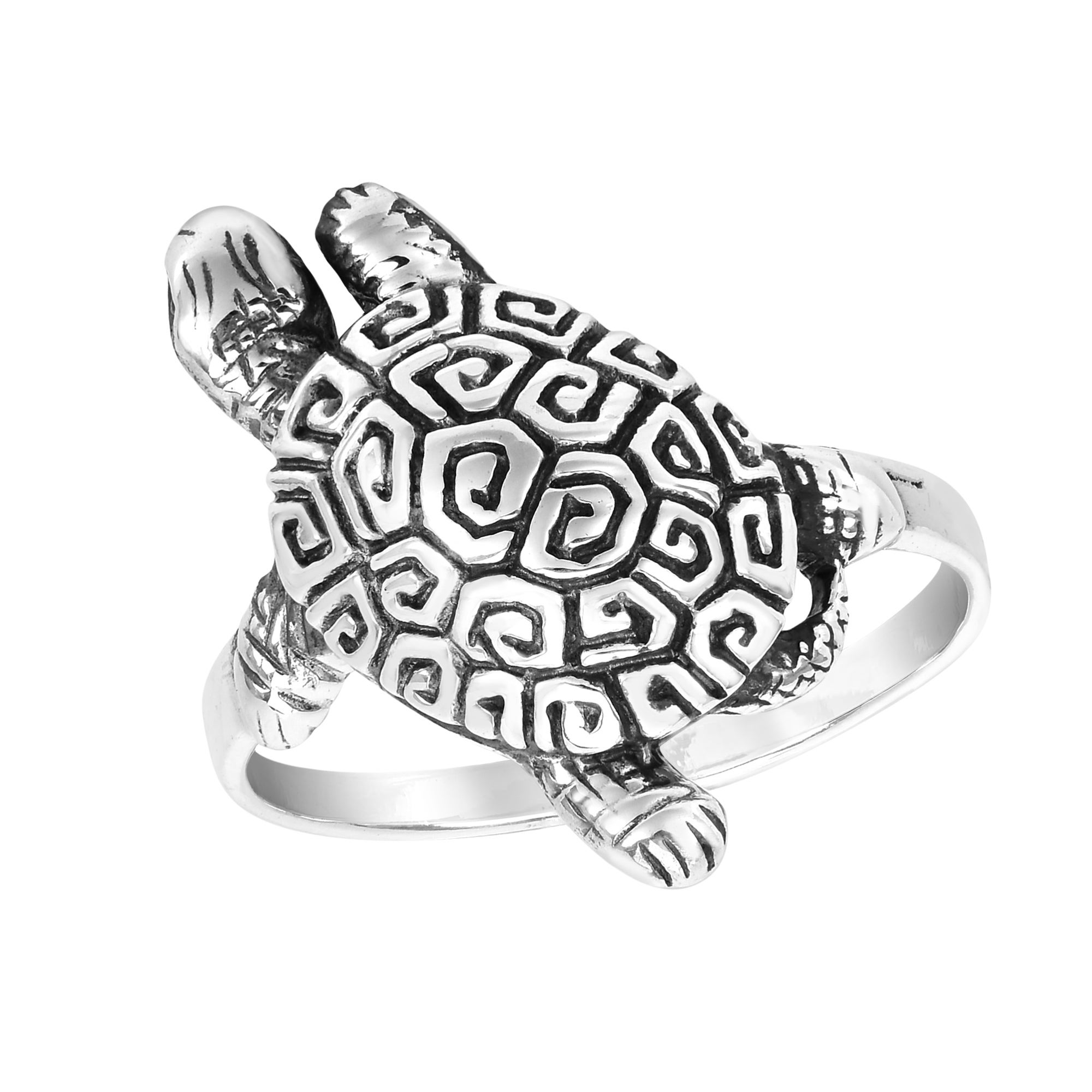Turtle Sea Life Toe Ring STERLING SILVER