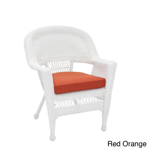 Cool Shop White Wicker Chair With Cushion On Sale Free Cjindustries Chair Design For Home Cjindustriesco