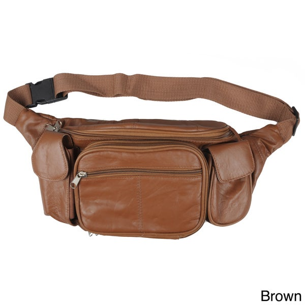 cb9a2cd9f97 Shop Journee Collection Women's Soft Leather Fanny Pack - Free ...