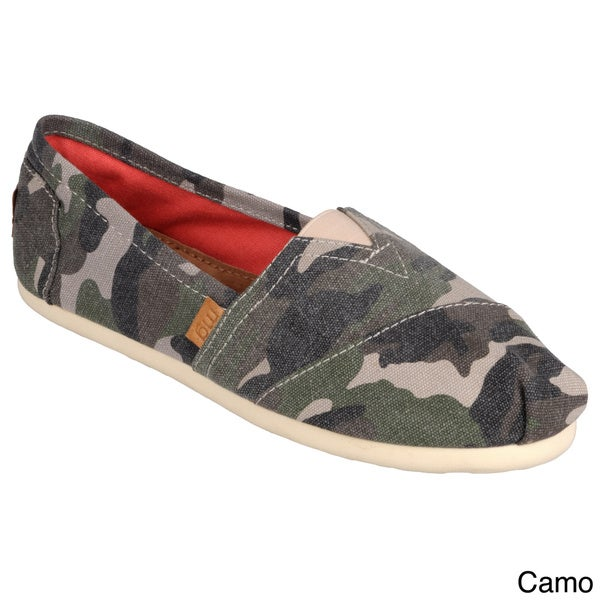 Madden Girl by Steve Madden Womens Round Toe Canvas Flats