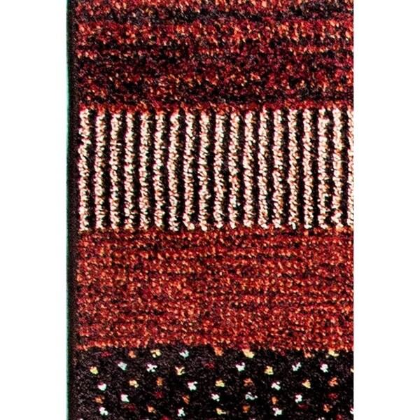 Eternity Striped Multi-colored Rug (3'11 x 5'7)