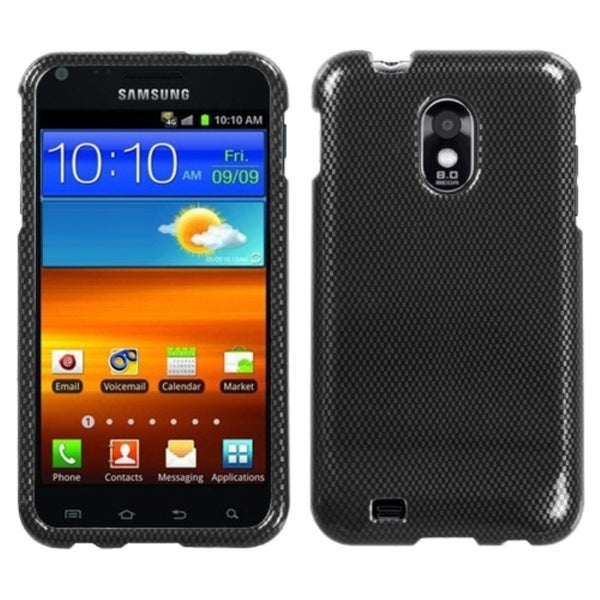 INSTEN Carbon Fiber Phone Case Cover for Samsung Epic 4G Touch/ Galaxy S2