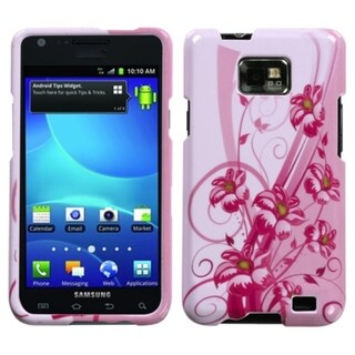 INSTEN Blooming Lily Protector Phone Case Cover for Samsung Galaxy S2 I777