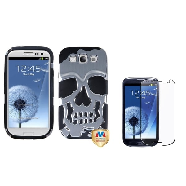 INSTEN Phone Case Cover/ Screen Protector for Samsung Galaxy S3/ S III i9300
