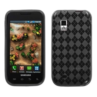 INSTEN Smoke Argyle Candy Skin Phone Case Cover for Samsung Fascinate/ Mesmerize