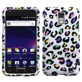INSTEN Colorful Leopard Phone Case Cover for Samsung Galaxy S2 Skyrocket I727