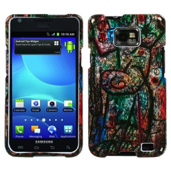 INSTEN Earth Art Protector Phone Case Cover for Samsung Galaxy S2 I777
