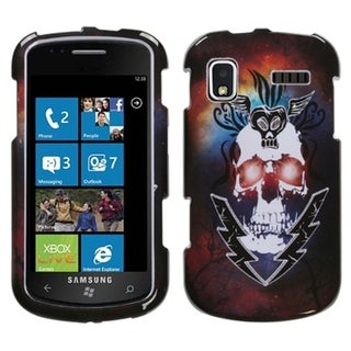 INSTEN Lightning Skull Protector Phone Case Cover for Samsung Focus I917