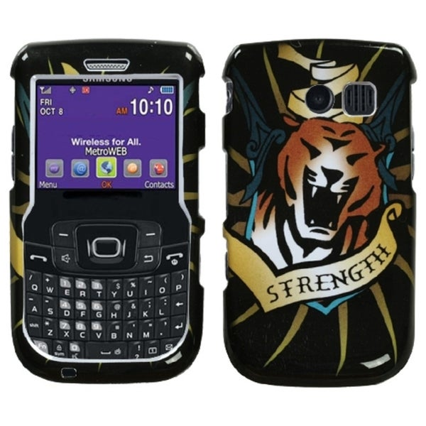 INSTEN Tiger Strength Protector Phone Case Cover for Samsung Freeform II R360