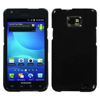 INSTEN Natural Black Protector Phone Case Cover for Samsung Galaxy S2 I777
