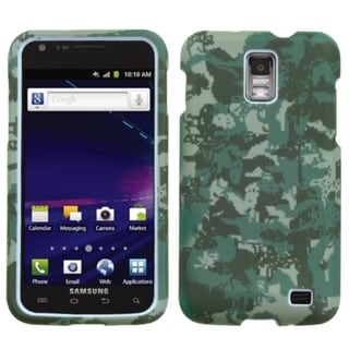 INSTEN Lizzo Digital Camo Green Phone Case Cover for Samsung Galaxy S2 Skyrocket