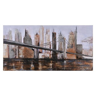 Ren Wil Olivia 'Urban Style' Hand-painted Canvas Art