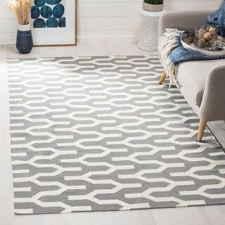 Safavieh Hand-woven Moroccan Reversible Dhurrie Silver Wool Rug (9' x 12')|https://ak1.ostkcdn.com/images/products/8180055/P15517418.jpg?_ostk_perf_=percv&impolicy=medium