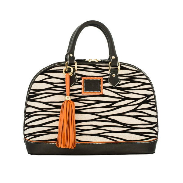 Claudia G. 'Antonia' Petite Zebra Bag