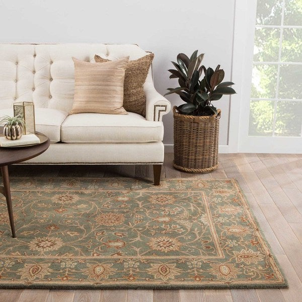 Easton Handmade Floral Multicolor Area Rug (5' X 8') - 5' x 8'