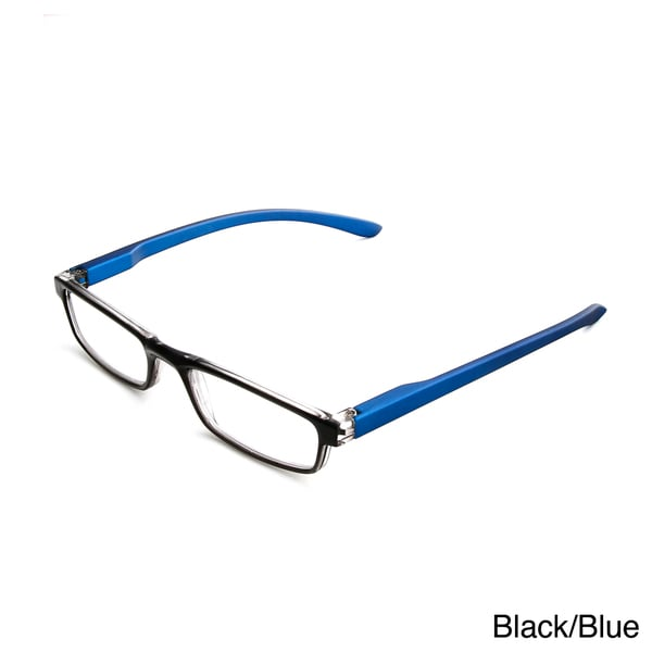 Hot Optix Unisex 2-toned Reading Glasses - Free Shipping ...