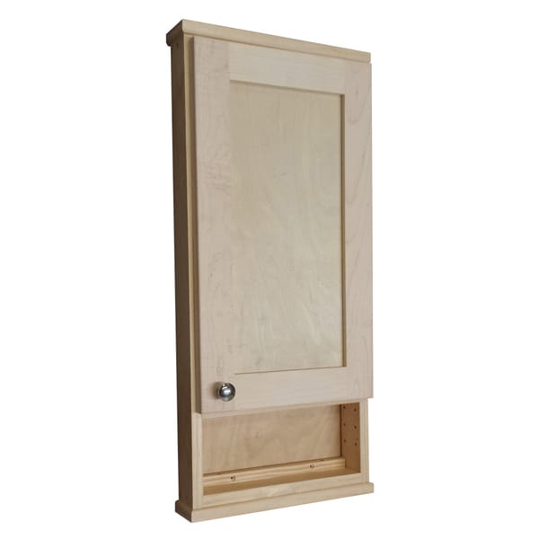 Shop 30-inch Shaker Series On The Wall Cabinet/ 6-inch