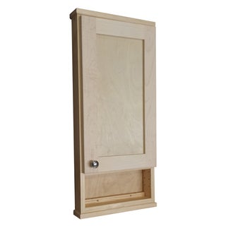 30-inch Shaker Series On the Wall Cabinet/ 6-inch Open Shelf