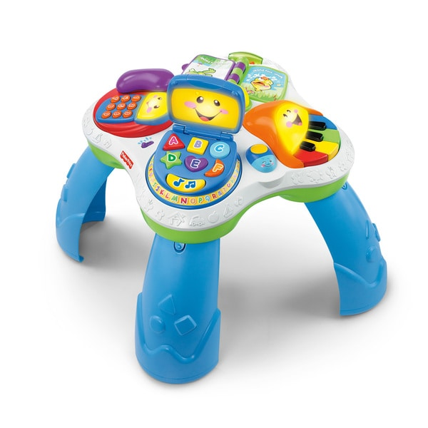 Overstock Toys For Boys : Fisher price laugh learn fun with friends musical table