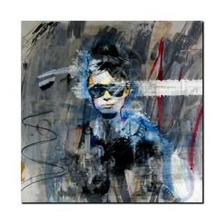 Ready2HangArt Iconic 'Audrey Hepburn' Acrylic Wall Art