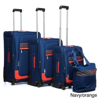 Nautica Rhumb 4-piece Expandable Spinner Luggage Set