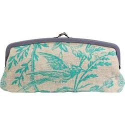 Women's Amy Butler Leather Cameo Clutch Azure