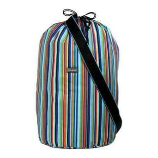 Women's Hadaki by Kalencom Laundry Bag Mardi Gras Stripes