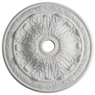 30-inch Floral Acanthus Ceiling Medallion