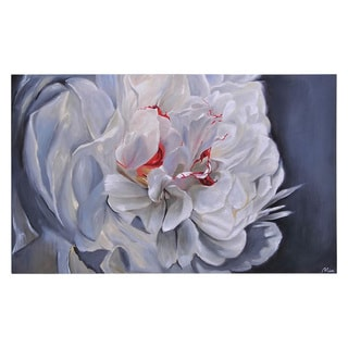Ren Wil Mia Archer 'Floral Elegance' Hand-painted Canvas Art