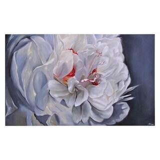 Ren Wil Mia Archer 'Floral Elegance' Hand-painted Canvas Art