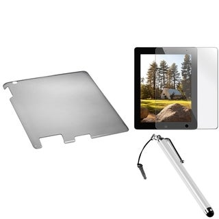 INSTEN T-Smoke Tablet Case Cover/ Stylus/ Screen Protector for Apple iPad 2/ 3/ 4
