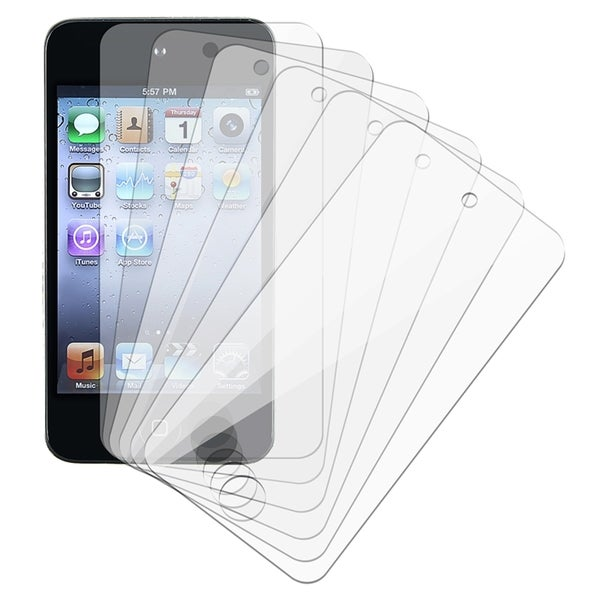 INSTEN Clear Screen Protector for Apple iPod touch 4 (Pack of 6)