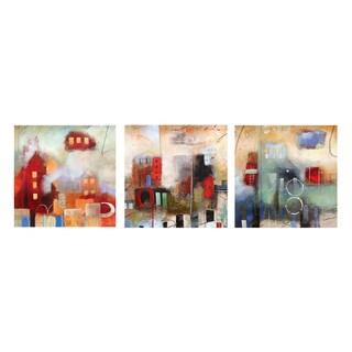 Ready2HangArt 'Abstract' Canvas Art 3-piece Set