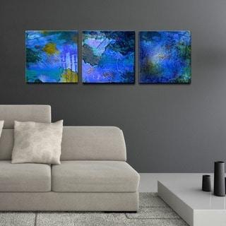 Abstract' 3-Pc Canvas Wall Art Set