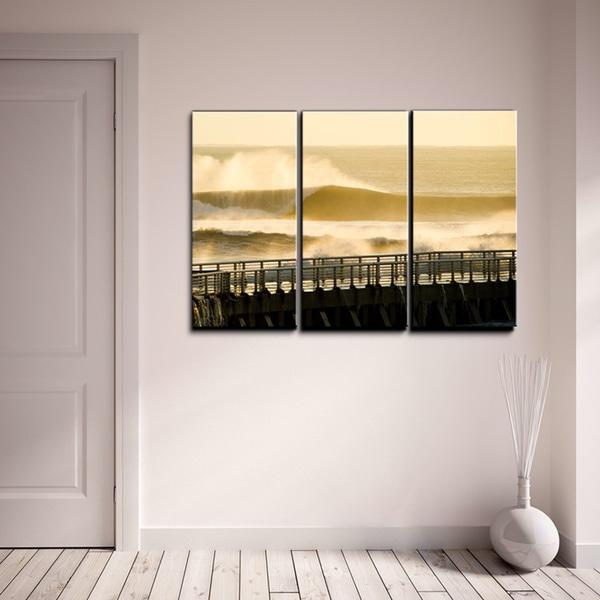 Nicola Lugo 'Surf Photography' Canvas Art 3-piece Set