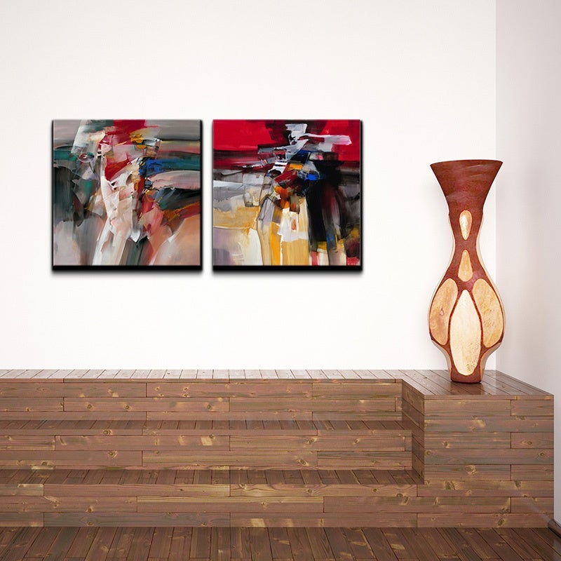 Ready2HangArt 'Abstract' 2-piece Gallery-wrapped Canvas W...