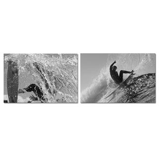 Nicola Lugo 'Surf Photography' Canvas Art 2-piece Set