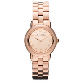 Marc Jacobs Women's 'Mini Marci' Rose-goldtone Watch