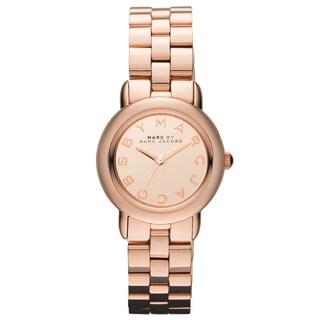 Marc Jacobs Women's 'Mini Marci' Rose-goldtone Watch - GOLD