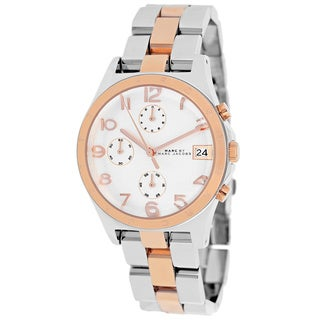 Marc Jacobs Women's MBM3070 'Henry' Two-tone Chronograph Watch