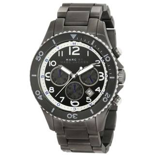 Marc Jacobs Women's 'Rock Chrono' Stainless Steel Chronograph Watch