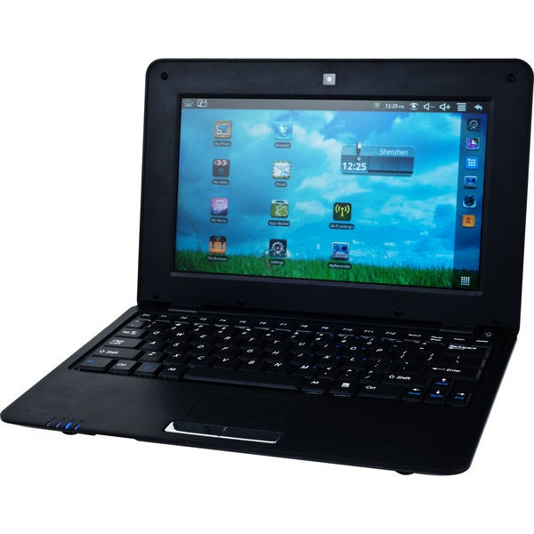 """CrystalView Android 2.2 10"""" Netbook"""