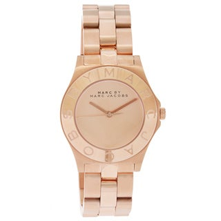 Marc Jacobs Women's MBM3127 Blade Rose Gold-tone Watch